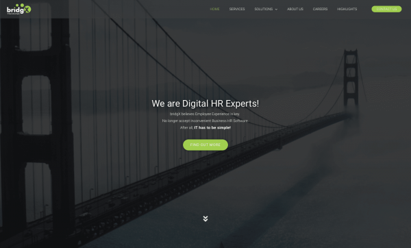 HEPTO Webdesign Website Webshop bridgX